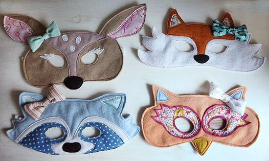 Woodland party, animal mask - Feature Friday: Woodland Party!   Halfpint Design - this cute woodland party was simple but elegant..