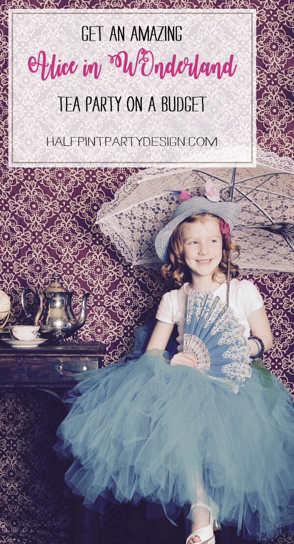 Alice in Wonderland party sources   Halfpint Design - Make your next tea party a breeze with this awesome source list with links to activity ideas and even a tea party gift list!