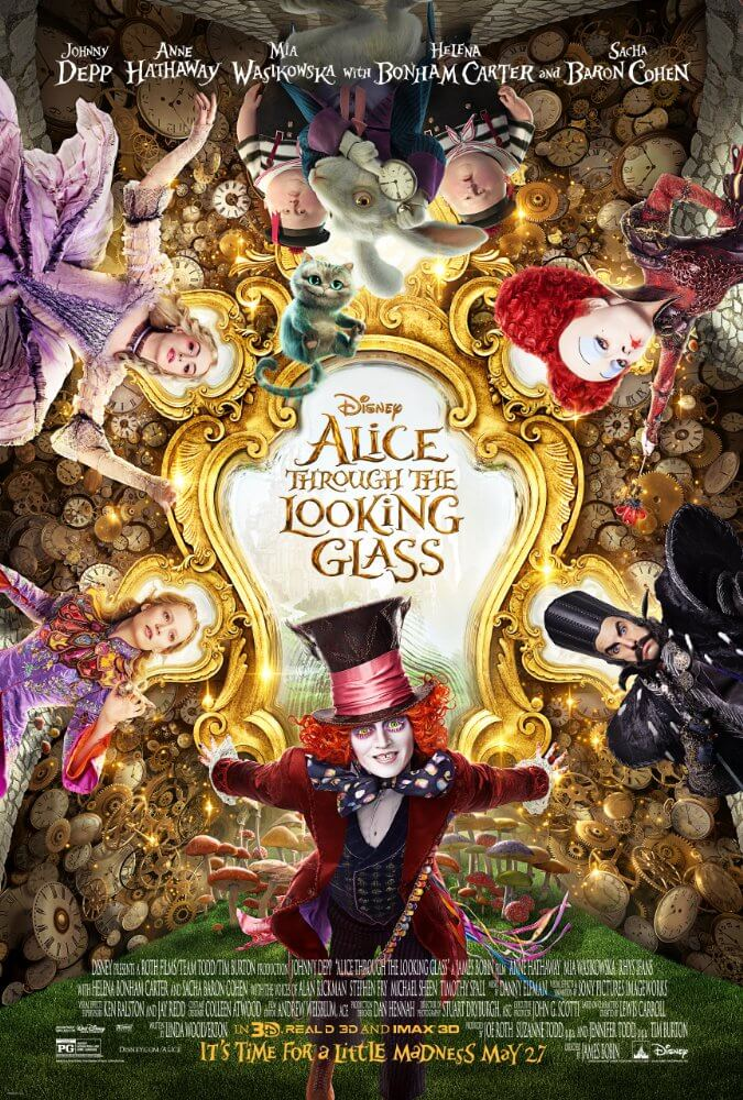 Mini-Oscars: for the best children's movies of 2016 voted on by children   Halfpint Design - Alice Through the Looking Glass