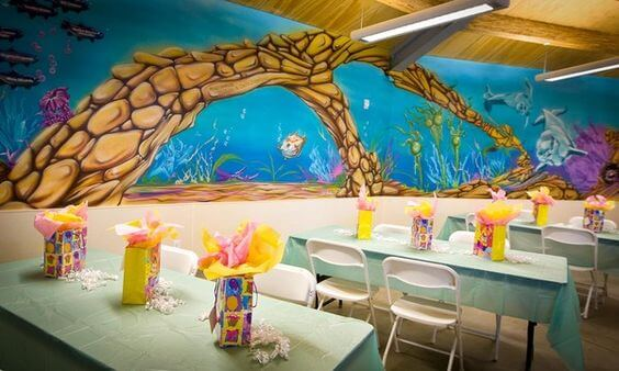 Mini-Oscars: The best children's movies of 2016 voted on by children   Halfpint Design - Having a party venue makes it easier for you to plan, decorate, and clean up. Educational centers like aquariums and museums often have great rooms and party options.