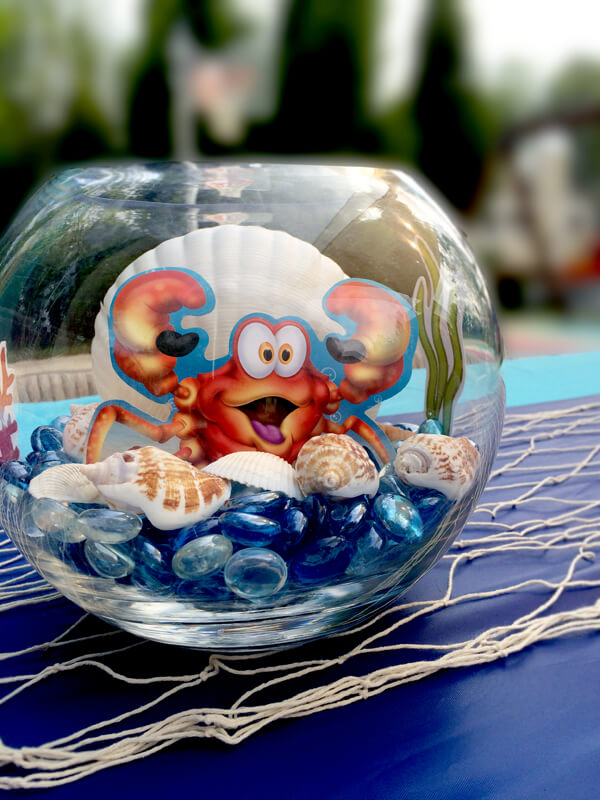 Mini-Oscars: The best children's movies of 2016 voted on by children   Halfpint Design - this under the sea crab centerpiece is a fun addition to the tablescape