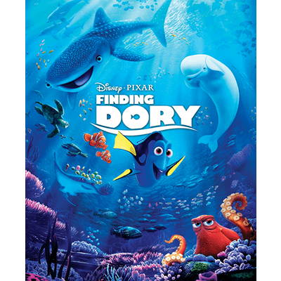 Mini-Oscars.....and the winner of the Best Children's movie for 2016 goes to....Finding Dory!   Halfpint Design