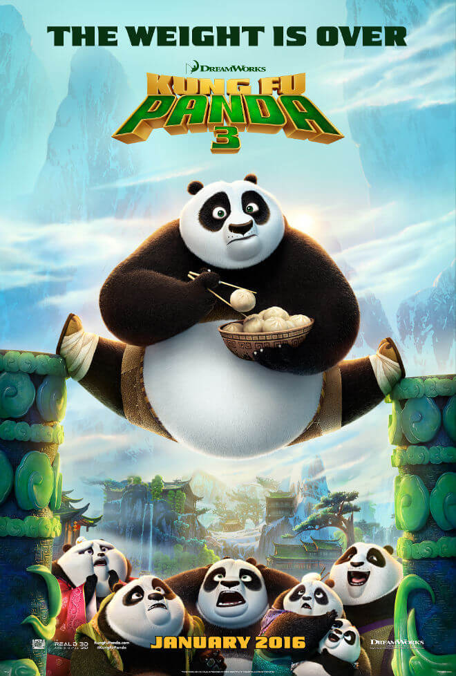 Mini-Oscars: for the best children's movies of 2016 voted on by children   Halfpint Design - Kung Fu Panda 3