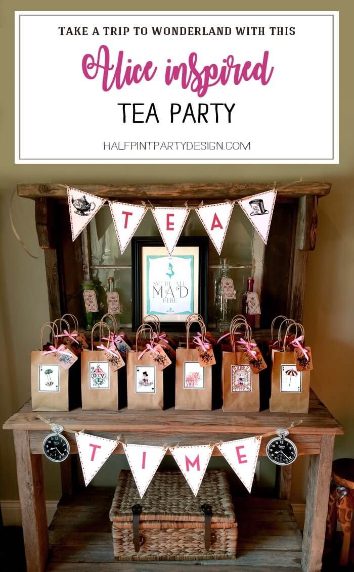 Alice in Wonderland Tea Party | Halfpint Design