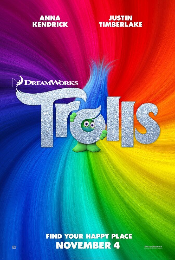 Mini-Oscars: for the best children's movies of 2016 voted on by children   Halfpint Design - Trolls