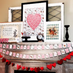 Queen of Hearts Art – A Playing Card DIY