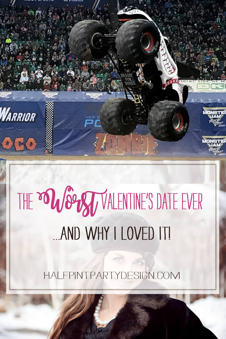 "What could possibly be construed as the ""Worst Valentines Date"" ever? Take a read and I'll tell you why this disastrous evening turned into a memory I absolutely love! Halfpint Party 