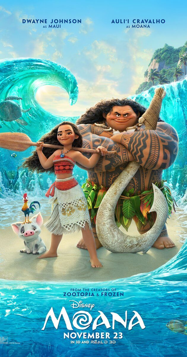 Mini-Oscars: for the best children's movies of 2016 voted on by children   Halfpint Design - Moana