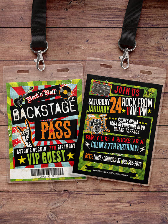 Mini-Oscars: for the best children's movies of 2016 voted on by children   Halfpint Design - Sing, rock star backstage passes