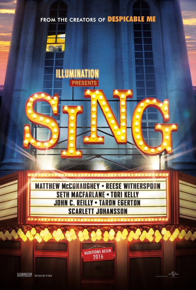 Mini-Oscars: for the best children's movies of 2016 voted on by children | Halfpint Design - Sing