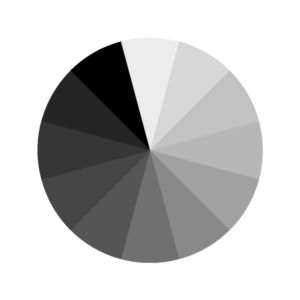 Choosing the Perfect Party Color Scheme | Halfpint Design - No color - achromatic, grey scale, black and white, and we can sneak our neutrals into this category too too