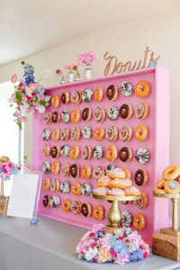Why I Say NO to Dessert Buffets   Halfpint Design - Kids these days already consume way too much sugar. Let's give them all the fun without the crash. Donut parties are hot. I'm sick after ONE donut. What do we do for the rest of the party?