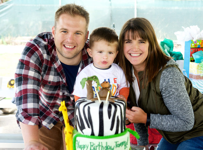 Feature Friday: Party Animals! | Halfpint Design - The birthday boy loved it and that's the best part!