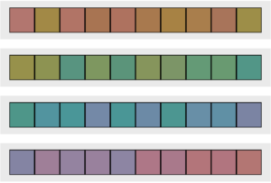 Choosing the Perfect Party Color Scheme | Halfpint Design - Fun little Hue Test. How well do YOU see color?