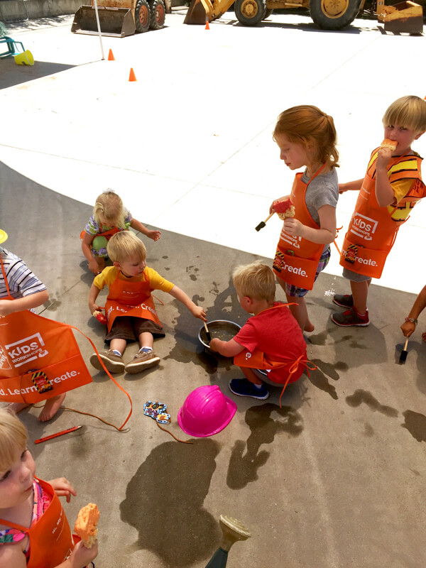 3rd birthday - Construction Party Blast | Halfpint Design - Activity #2, Excavation station