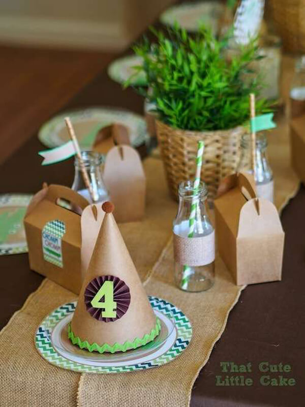 Jungle Party. Greenery Inspired Parties | Halfpint Design - This was actually a crocodile party but I think works equally well for a jungle party too!