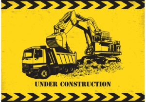 Construction Party Sources | Halfpint Design - Under Construction free printable from Vecteezy