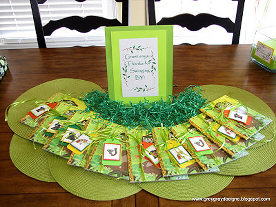 Jungle Party. Greenery Inspired Parties   Halfpint Design - Great Jungle Book Party favors
