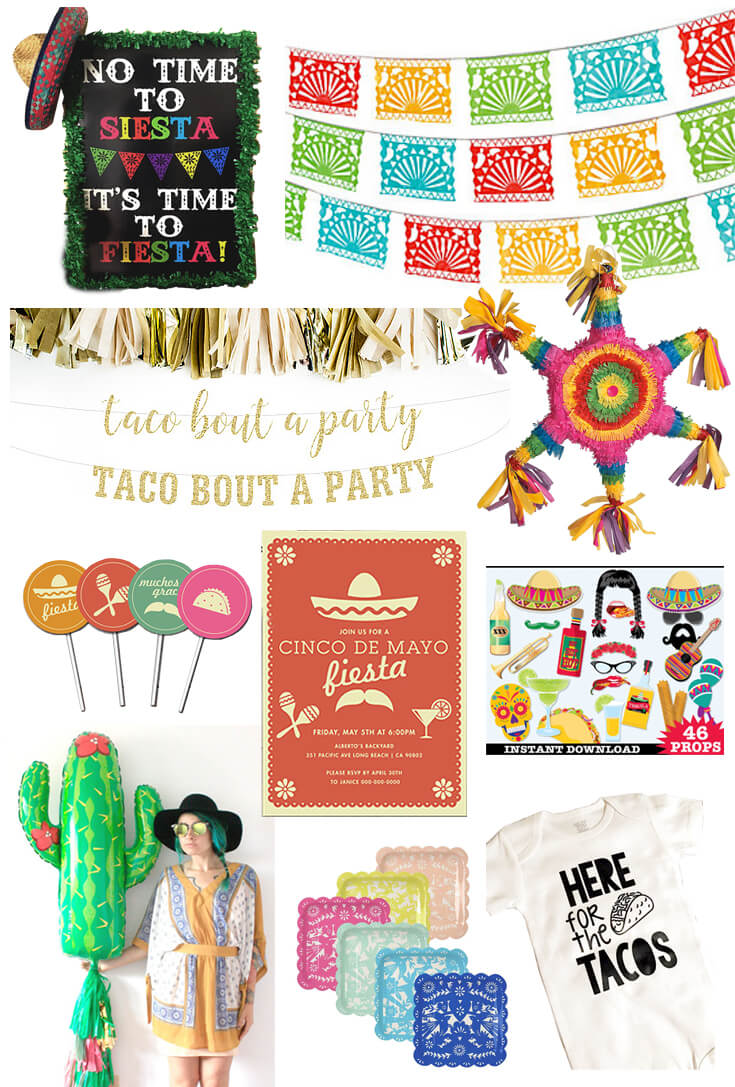 Host a Fabulous Fiesta for Cinco de Mayo | Halfpint Design - Ten of the best party supplies for a fabulous Cinco de Mayo fiesta!