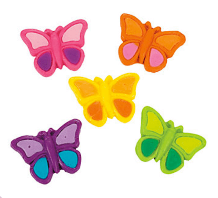 Butterfly first birthday party | Halfpint Design - these gummy butterflies are the perfect party favor