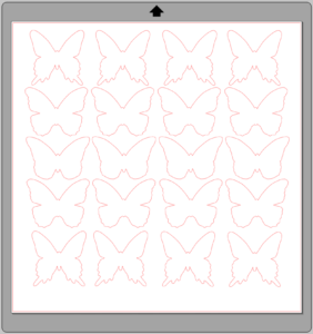 DIY Butterfly Party Favor | Halfpint Design - Butterfly SVG cut file of simple butterfly