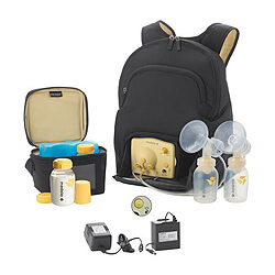 Practical Baby Shower Gifts for Breastfeeding Moms | Halfpint Design - Medela Pump in Style breast pump, for moms that plan to pump exclusively or have great privacy during the day for pumping.
