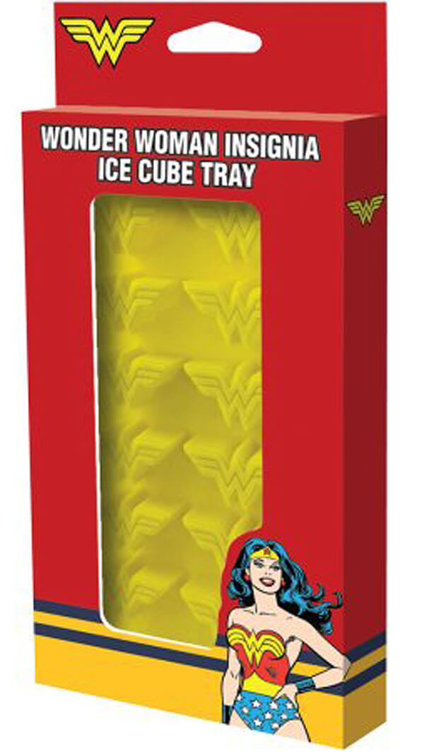 Wonder Woman Ice cube trays can add pizzazz to drinks. Wonder Woman Party Food   Halfpint Design, party ideas, party themes