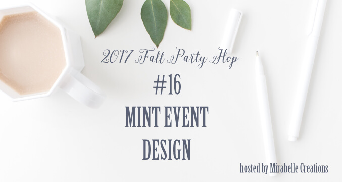 Fall Blog Hop | Halfpint Design - Day 5 with Happy Family Blog, Mint Event Design, and Jen T By Design