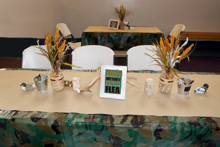 Hunting Party Themed Birthday