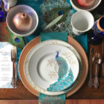 Global Chic Holiday Tablescape