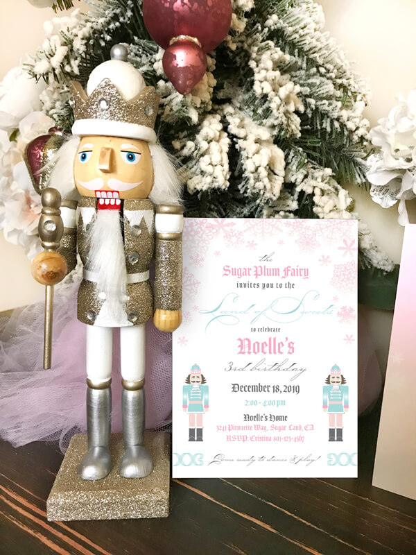 Pretty Pastel Nutcracker Ballet Party Ideas Parties With A