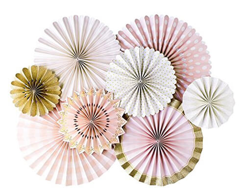 Looking for a great winter birthday idea? Or holiday party theme for your friends and family? A Nutcracker ballet party is the perfect theme and I've got a list of 26 amazing products that will up your party game! Party fans are my favorite party decor at the moment. This pink and gold collection makes a gorgeous backdrop for the food table or photo booth. Pretty Pastel Nutcracker Ballet Party Ideas on Halfpint Design. Ballet party, Christmas party, Nutcracker party.