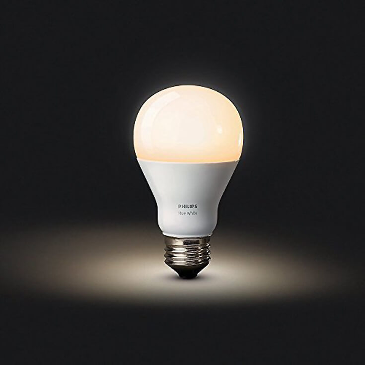 """Have a difficult man in your life making gift buying a headache? Why not give him a """"smart house"""" with voice activated lightbulbs? For more great ideas check out the Ultimate Gift Guide for the Man who has Everything at Halfpint Design. Christmas gift ideas, men's birthday gift ideas."""