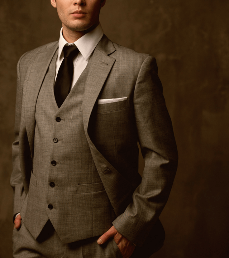 Have a difficult man in your life making gift buying a headache? Set him up a fitting for a tailored suit. For more great ideas check out the Ultimate Gift Guide for the Man who has Everything at Halfpint Design. Christmas gift ideas, men's birthday gift ideas.
