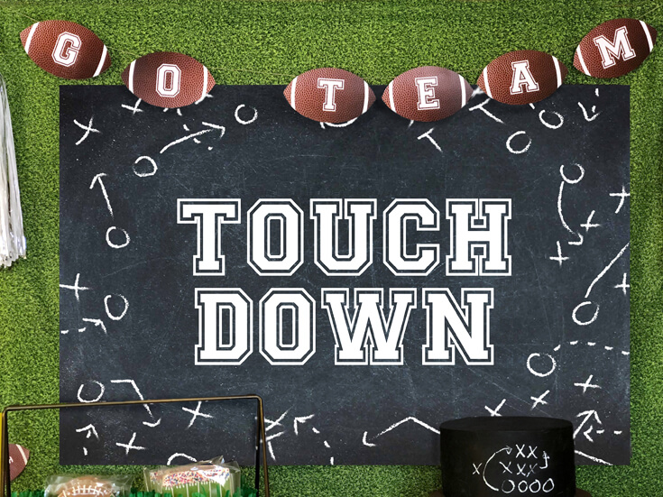Enjoius Party Plans - Football Party created by Bri Adams at Halfpint Design.