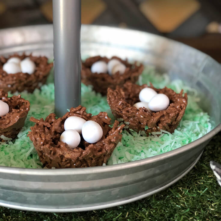 Chocolate Peanut Butter Butterscotch Bird Nest Recipe