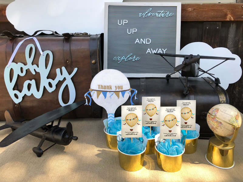 Hot Air Balloon Baby Shower Favor Parties With A Cause