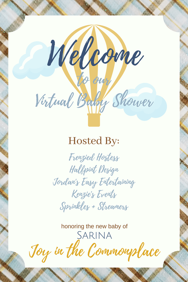 Virtual Baby Shower graphic