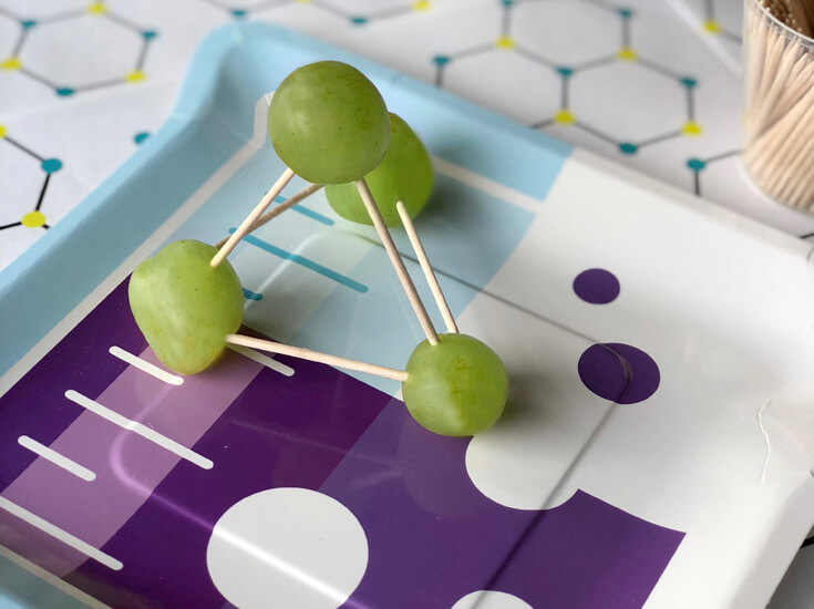 Grape Molecule Food Science Activity