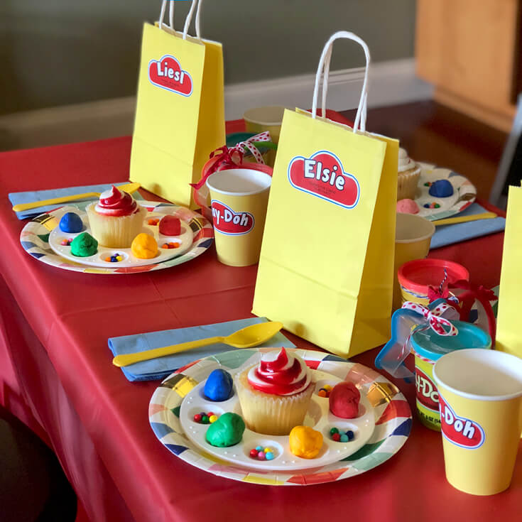 Play Doh Birthday Party Ideas
