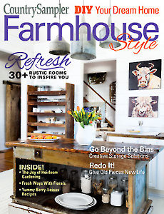 Country Sampler Farmhouse Style Magazine Cover Spring 2019