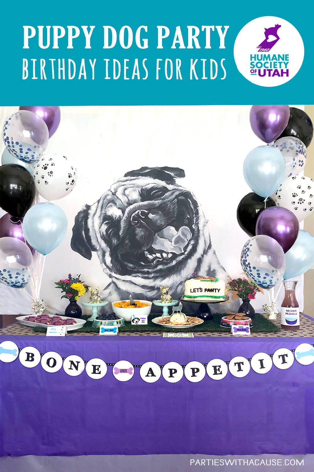 Bone Appetit! Dog Themed Puppy Birthday Party Ideas