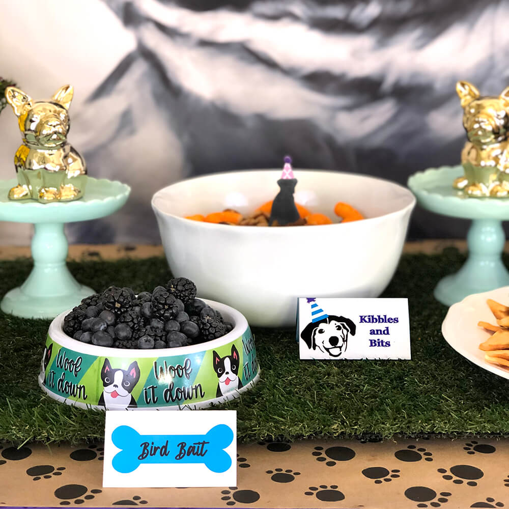 Bird bait berries - Puppy Themed Birthday Party Food Ideas