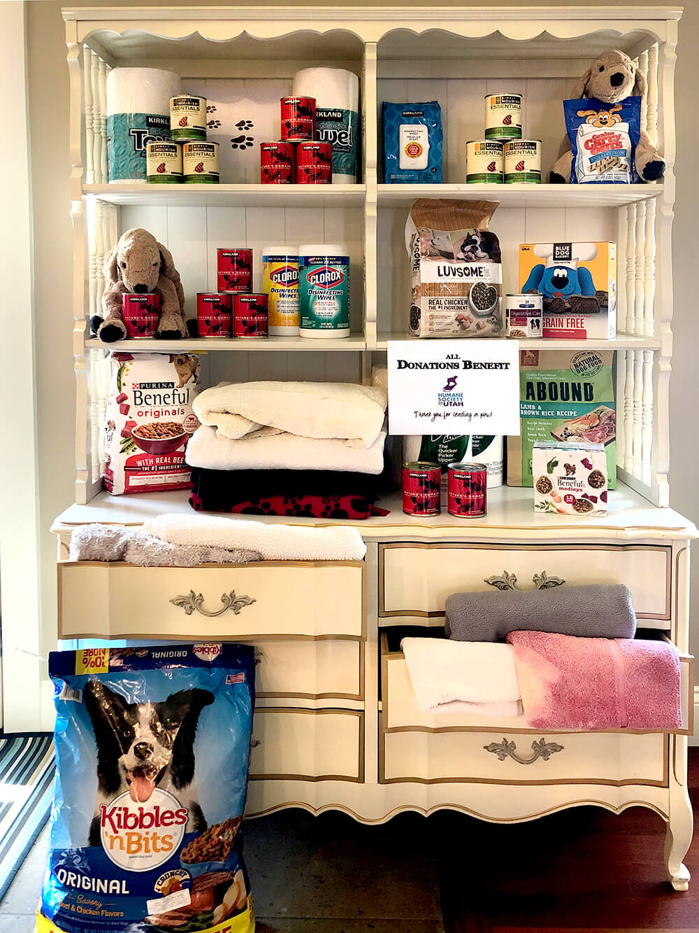 Donation for Humane Society - Dog Themed Puppy Birthday Party Ideas