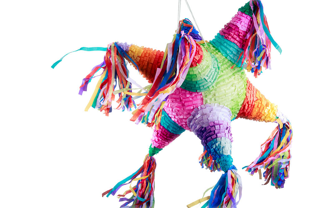 Mexican Piñata - Birthday piñata filler ideas other than candy