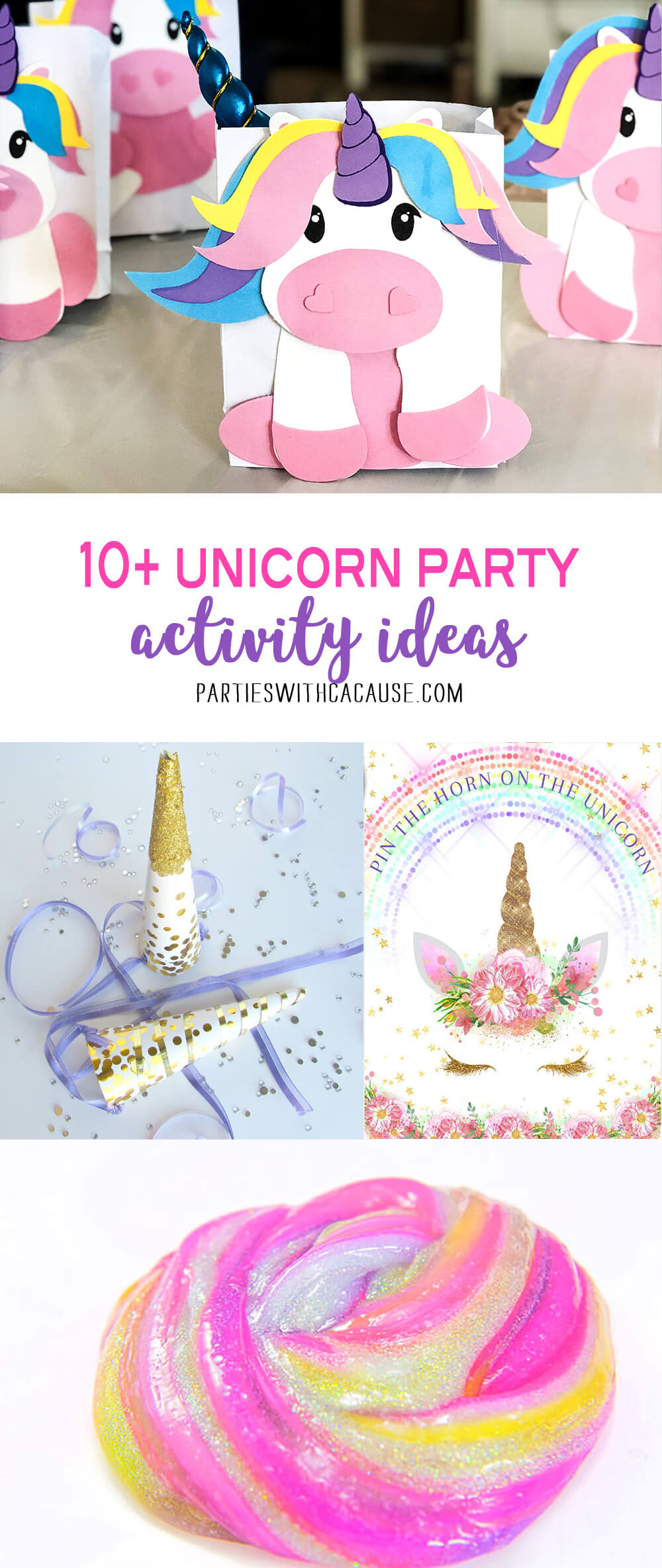 10+ Unicorn Birthday Party Game Ideas