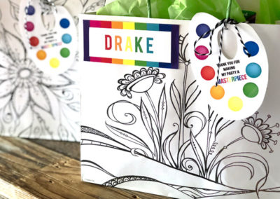 Impressive Art Party Favor Ideas