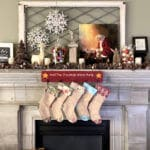 Rustic Woodland Christmas Mantel Design Ideas