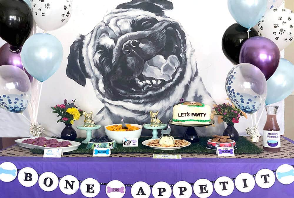 Dog Themed Puppy Birthday Party Ideas for Kids