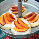 Peach Sugar Cookie Tart Recipe